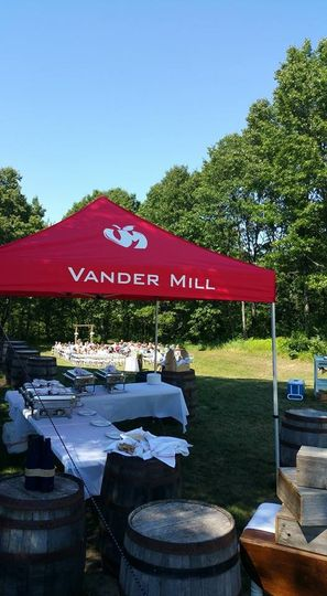 Vander Mill in Spring Lake, Michigan offers a quaint wedding venue. MUGS partners with Vander Mill...