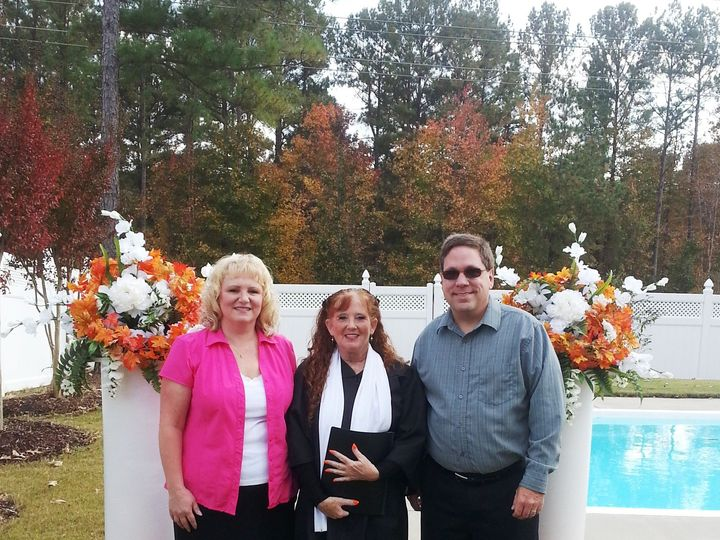 Tmx 1416061442650 Pam   Samantha   George Raleigh, North Carolina wedding officiant