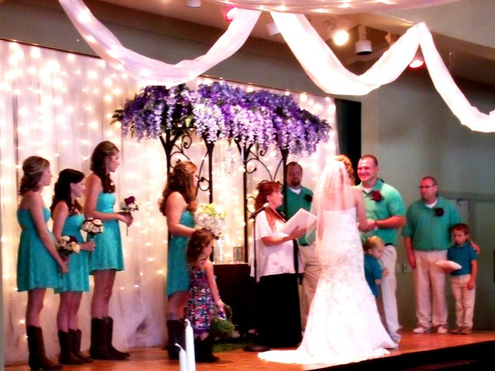 Tmx 1416061589779 Brandon  Victoria On Stage Raleigh, North Carolina wedding officiant