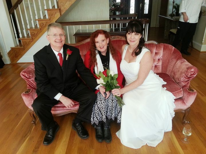 Tmx 1417638812147 Joe Samantha Jamie 11 28 14 Raleigh, North Carolina wedding officiant