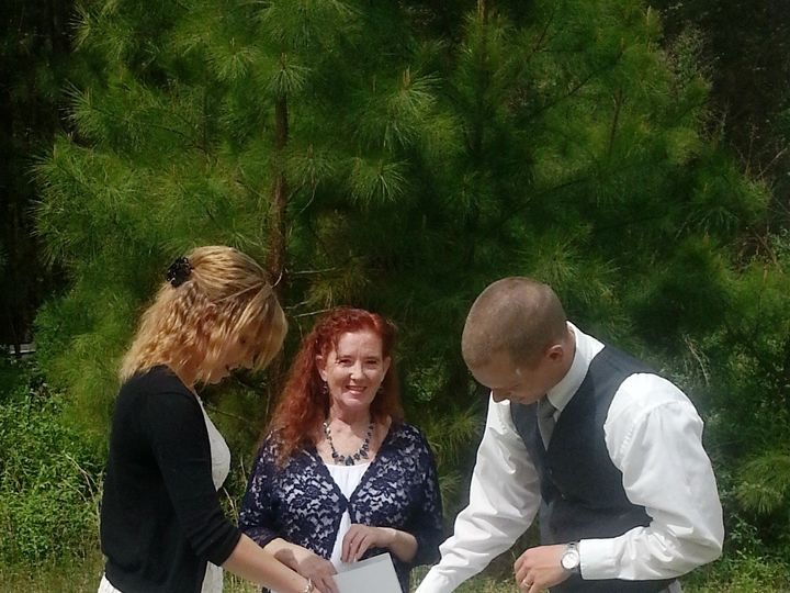 Tmx 1438537840975 Sand Ceremony Raleigh, North Carolina wedding officiant