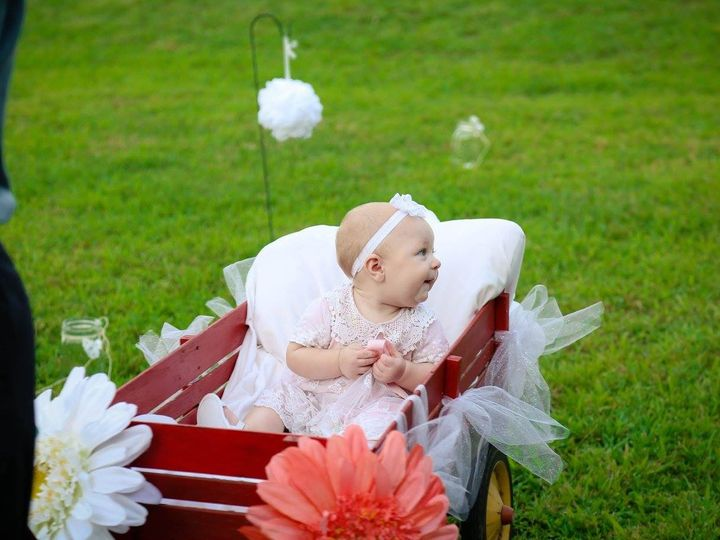 Tmx 1468366085507 Baby In The Wagon Raleigh, North Carolina wedding officiant
