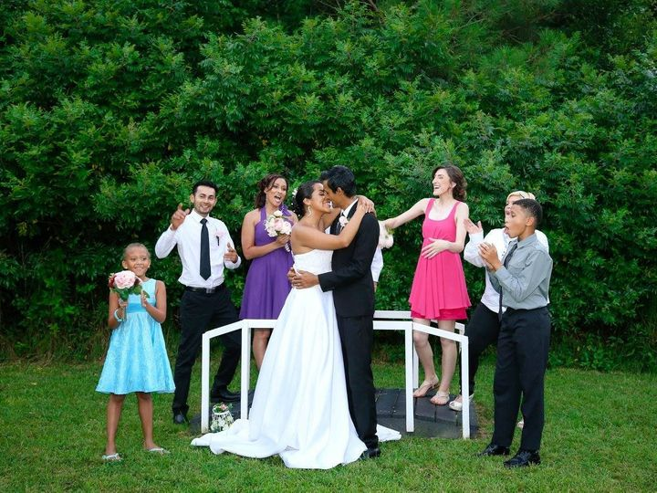 Tmx 1468366167649 Everyone On The Bridge Raleigh, North Carolina wedding officiant
