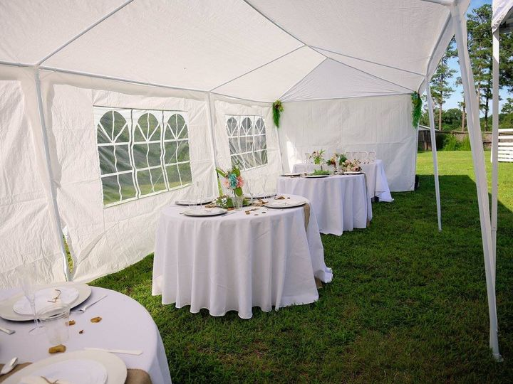 Tmx 1468366197316 Inside Tent Set Up Raleigh, North Carolina wedding officiant