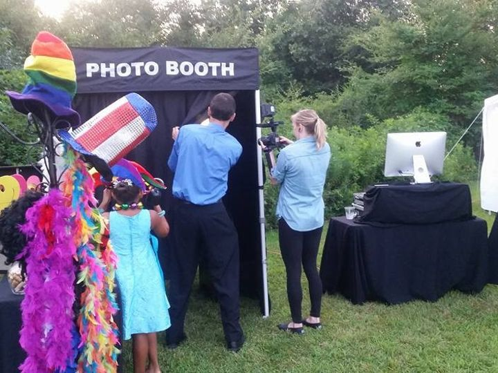 Tmx 1468366298143 Everyone Checking Out The Photo Booth Raleigh, North Carolina wedding officiant