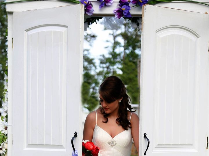 Tmx 1468366445895 Bride Peeking Throught The Doors Raleigh, North Carolina wedding officiant