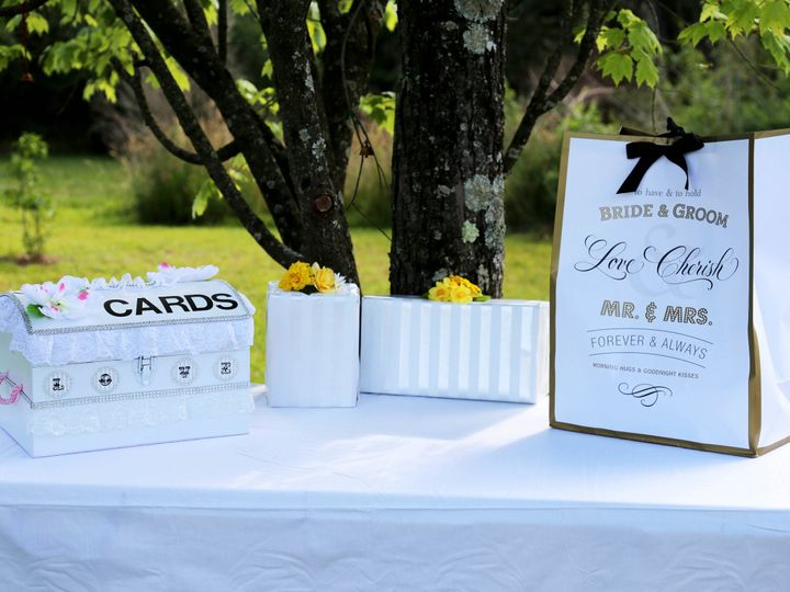 Tmx 1468366508122 Card Box Table Raleigh, North Carolina wedding officiant