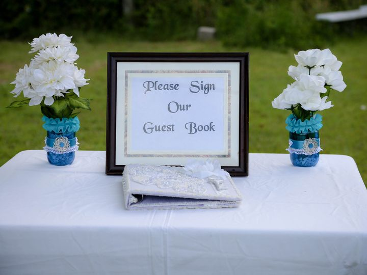 Tmx 1468366549730 Guest Book  Table Close Up Raleigh, North Carolina wedding officiant