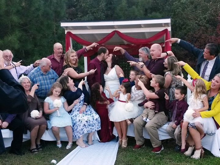 Tmx 1477021004353 Bg Kiss Group Points Raleigh, North Carolina wedding officiant