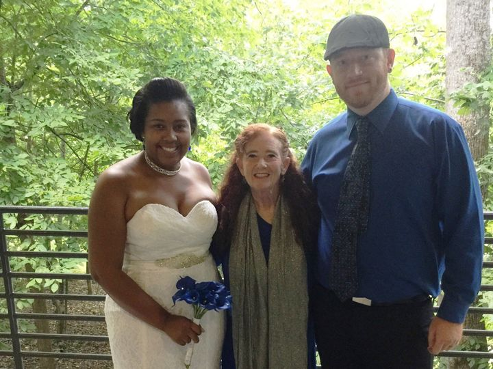 Tmx 1502721055916 Samantha With Couple Raleigh, North Carolina wedding officiant