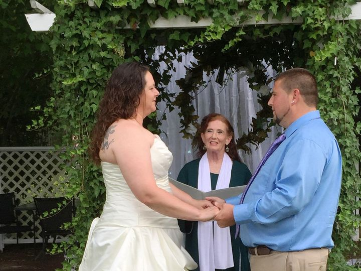 Tmx 1502721525427 Performing The Ceremony In The Garden 2 Raleigh, North Carolina wedding officiant
