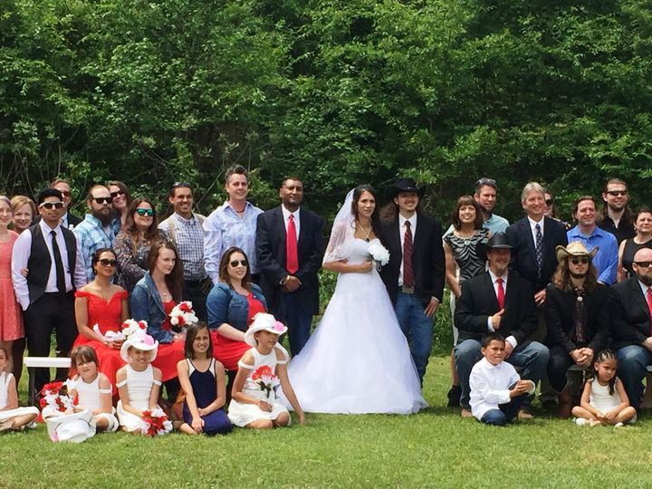 Tmx 1527522536 2dcb0e005ae51b14 1527522534 Aa17b32ca25de36b 1527522530161 2 Group Photo Raleigh, North Carolina wedding officiant