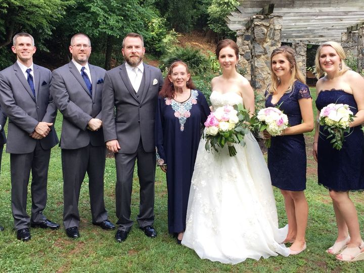 Tmx 1527523073 56e63ed57b7edb06 1527523071 C4402f98bcb0809e 1527523066967 3 The Bridal Party   Raleigh, North Carolina wedding officiant