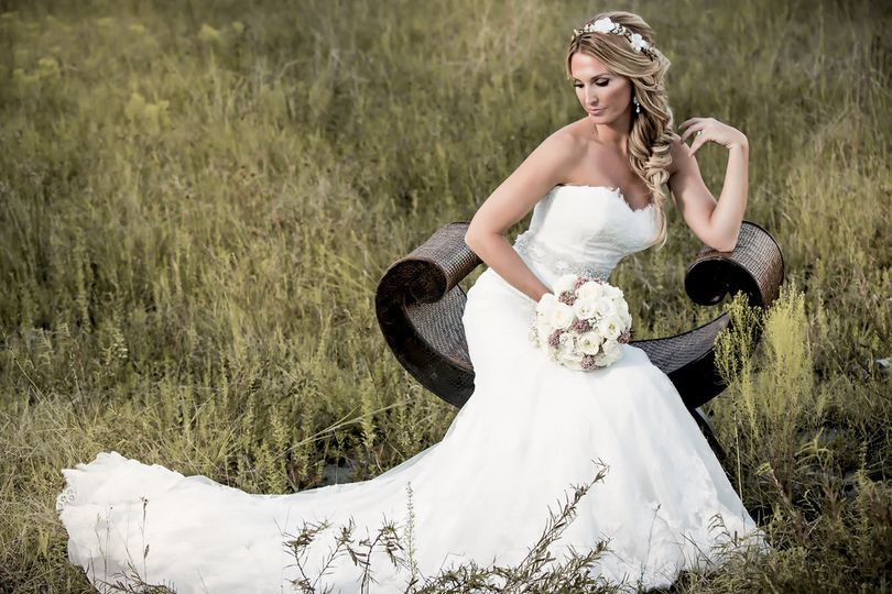 Hair & Makeup: Elena  Photography : Kristia Knowles  Florals : Simply Roses Florist