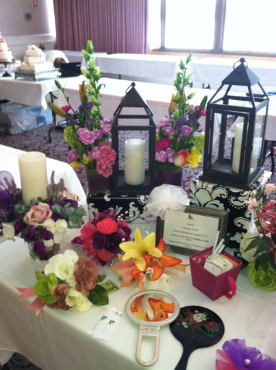 This is one of the tables we set up for the ITAM Berkshire Bride Hair and Makeup Show. We have...