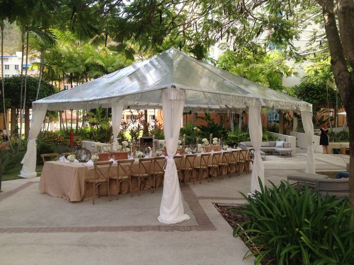 RUSTIC CHAIRS AND TENT