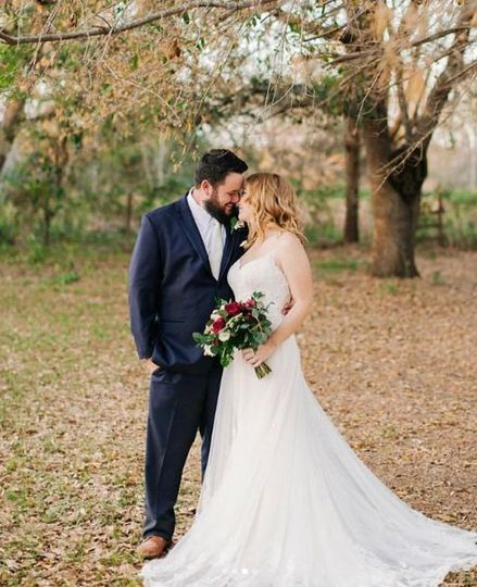 Bride is wearing Stella York gown, 6194! Styled by Ivory  & Lace Bridals. Photographer: Chelsea...