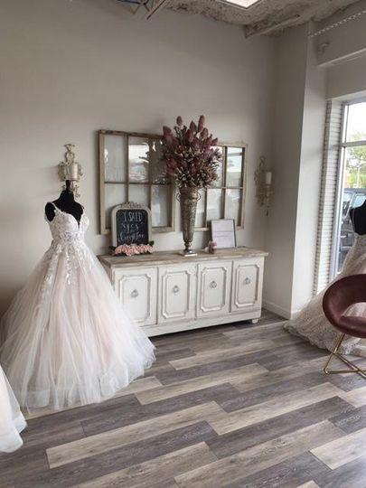 Inside Ivory & Lace Bridal