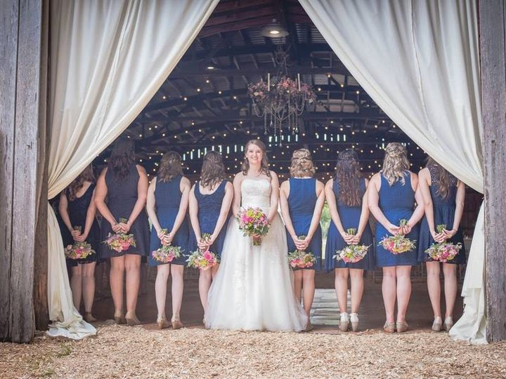 Tmx 1404751236270 Barn Bridal Party  Raleigh, North Carolina wedding venue