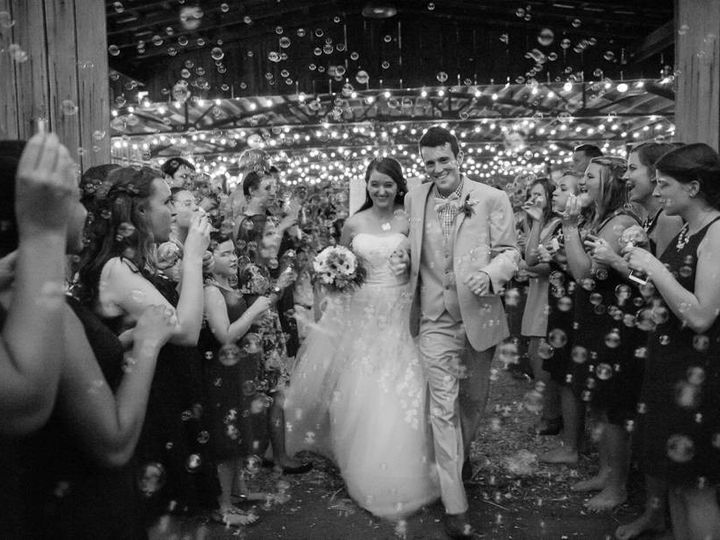 Tmx 1404751308811 Rustic Exit With Bubbles Raleigh, North Carolina wedding venue