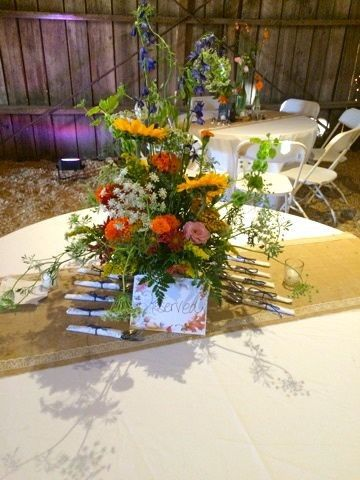 Tmx 1418751941566 Colorful Centerpiece Raleigh, North Carolina wedding venue