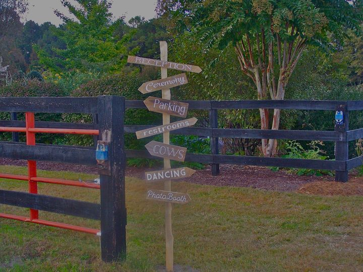 Tmx 1418752458637 Rustic Sign Farm Wedding Raleigh, North Carolina wedding venue