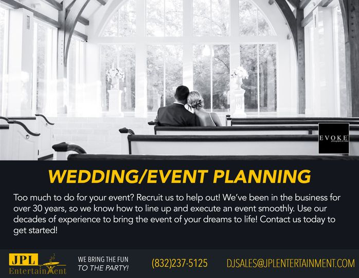 Wedding/Event Planning