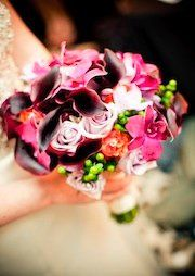Tmx 1309983545499 BridePinkLavOrgBrugBouquetcropped Mill Creek wedding planner