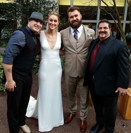 Wedding of Jason & Kylie Kelce