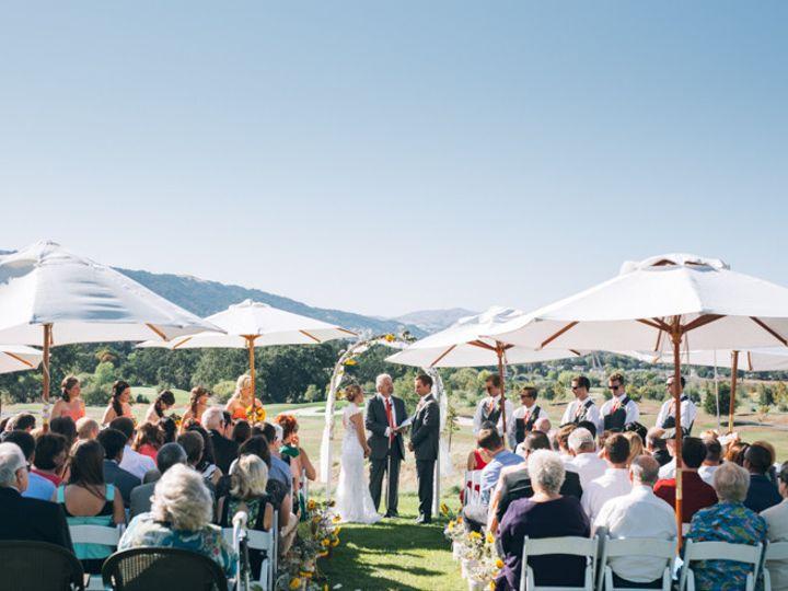 Tmx 1506034117021 Ceremony Umbrellas Pleasanton, California wedding venue