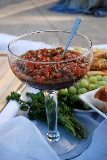 Filet Mignon Bruschetta