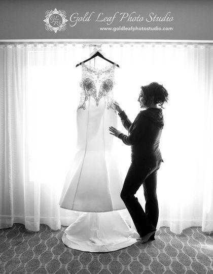 Bride Getting Ready!