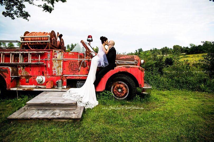 Bride, Groom, Rustic Wedding!