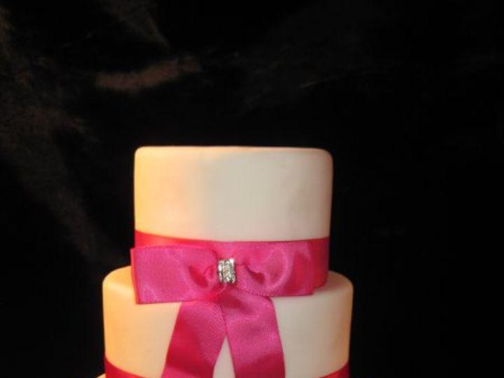 Tmx 1320066458505 Weddcakes080 Almont wedding cake