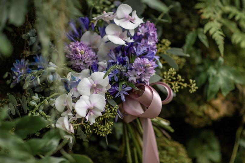 Lush spring bouquet