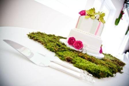Spring Wedding, Matching Sweetheart Cake!