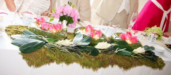 Spring Wedding, Head Table