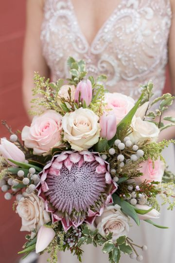 Blushing Queen Protea Bouquet