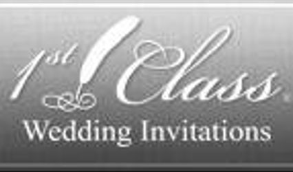 1st Class Wedding Invitations