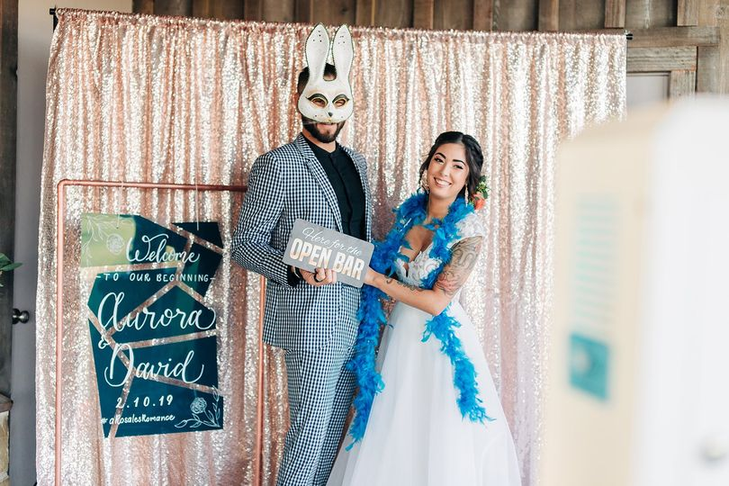 Teal Acrylic Welcome Sign