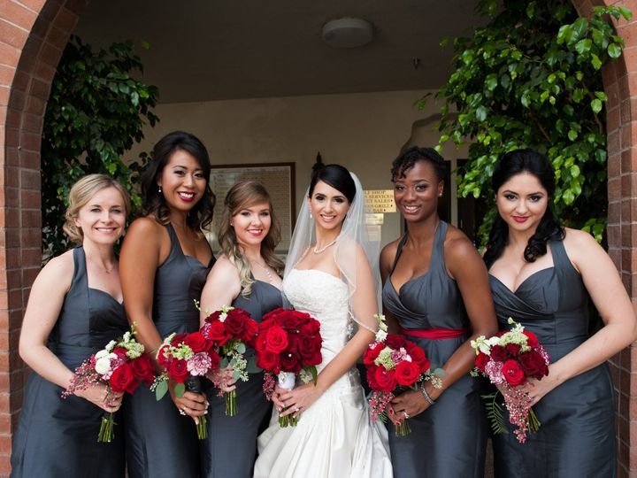 Tmx 1479762388738 Classic Gorgeous Wedding Bridesmaid Makeup Lookste Long Beach, California wedding beauty