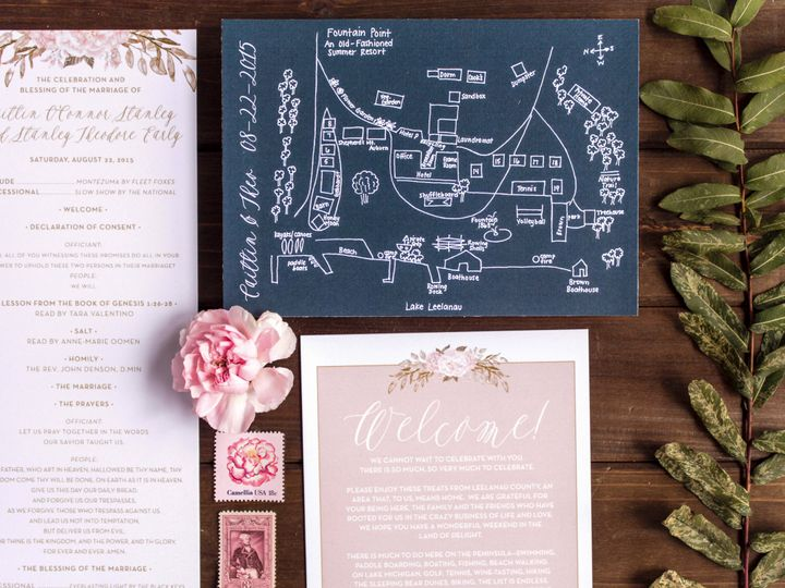 Tmx 1446656574052 Caittheo 4008 Traverse City, Michigan wedding invitation