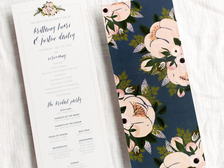 Tmx 1446657022675 Brittanyjustin 1 Of 7 Traverse City, Michigan wedding invitation