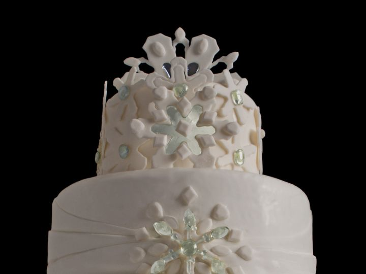 Tmx 1454113220626 Memory Of The Snow Wedding Cake Havertown wedding cake