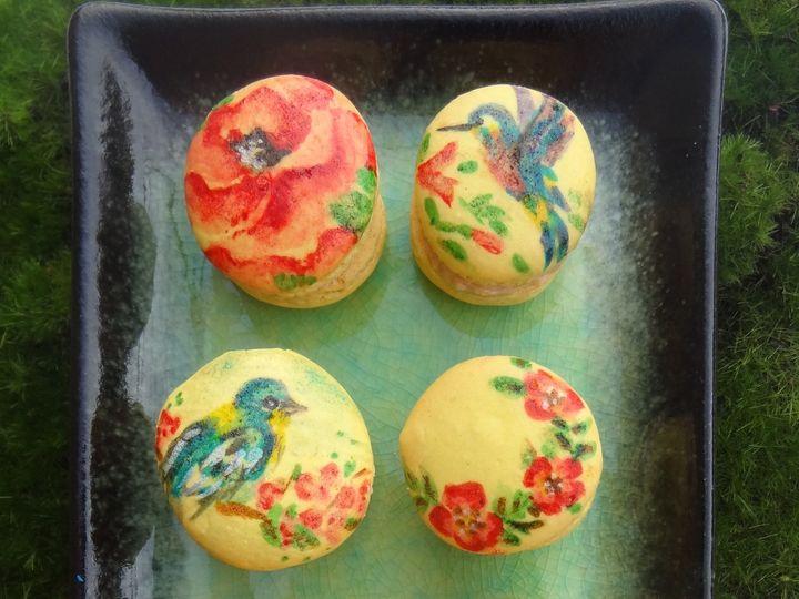 Tmx 1466622762357 Spring Collection Macarons Havertown wedding cake