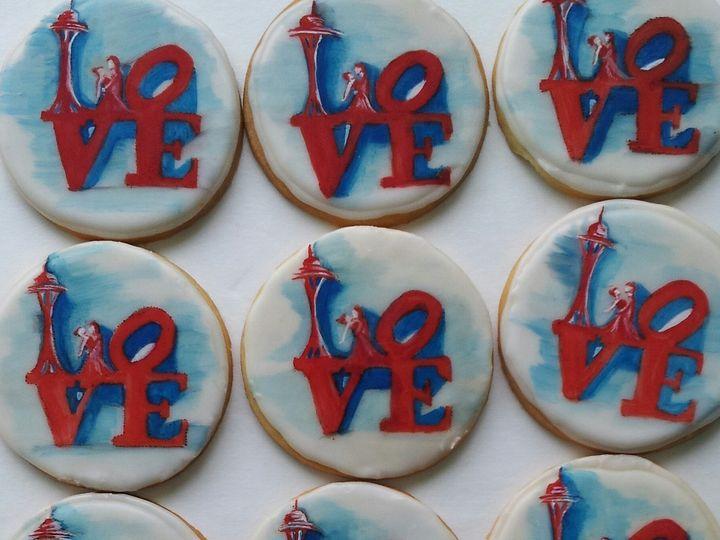 Tmx 1466623072269 Love Cookie Havertown wedding cake