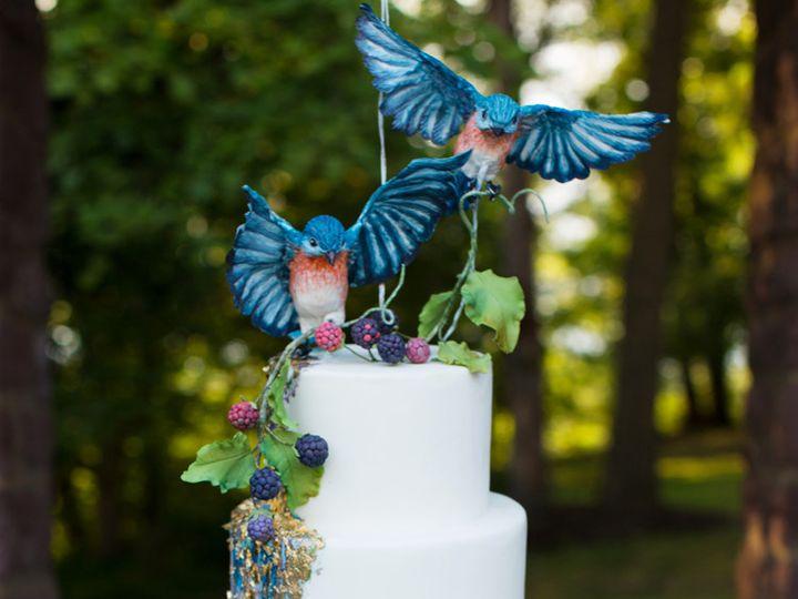 Tmx 1507644835347 Hanging Cake  150dpi Havertown wedding cake