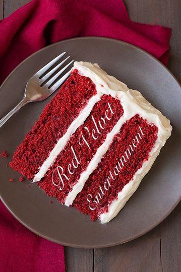 Red velvet sliced cake