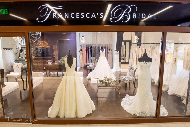 Francesca's Bridal storefront