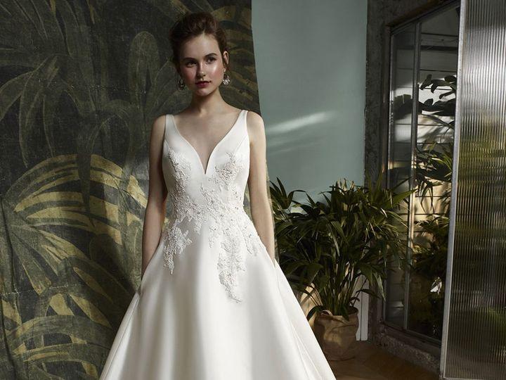 Tmx 1522515263 5811acc084a01b7b 1522515262 Fda07814727d2f9b 1522515256691 9 Blue 2018 Pro Karl  wedding dress